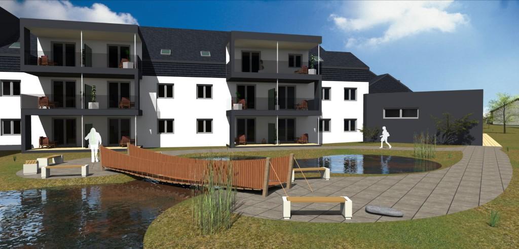 Teich und Terrassen (Large)